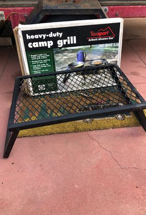 Heavy duty camp grill for Sale in San Diego, CA