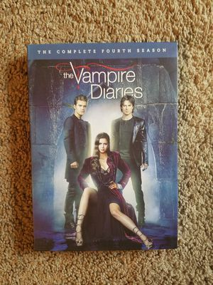 Vampire Diaries season 4 DVD for Sale in Cary, NC