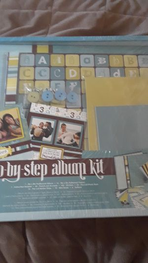 Step by step album kit for Sale in Livermore, CA