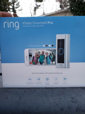 Ring Doorbell Pro for Sale in Fort Washington, MD