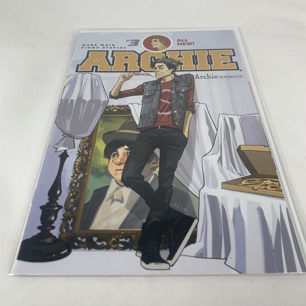 Archie #3 Vol 2 2015 Mark Waid, Fiona Staples JUGHEAD COMIC BOOK