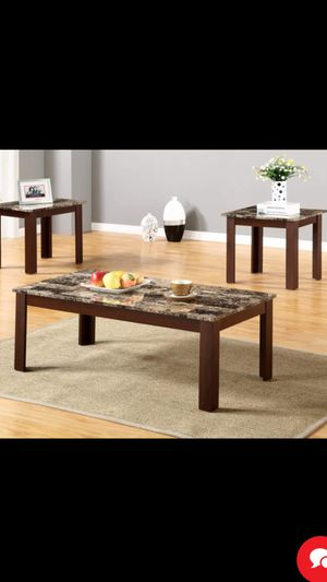 3pc coffee table set brand new in the box for Sale in Detroit, MI
