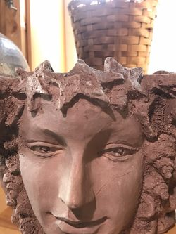 Cement Head Planter for Sale in Portland,  OR