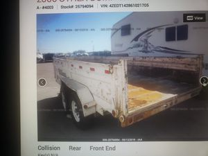 Dump trailer as is broken for Sale in Avondale, AZ