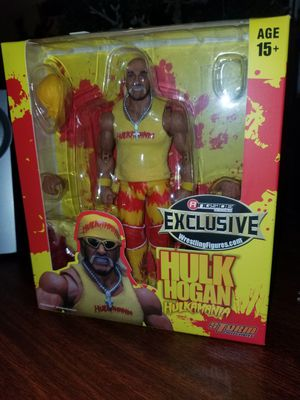 Hulk Hogan Storm Collectibles Action Figure for Sale in Grand Prairie, TX