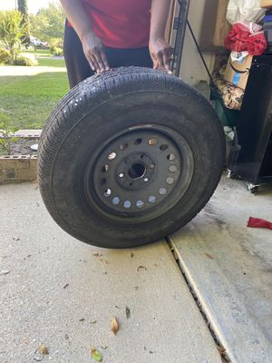 22in GOODYEAR TIRES + RIM x 2 for Sale in Cantonment, FL