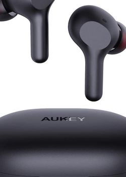 [Upgraded] AUKEY True Wireless Earbuds, Bluetooth 5 Headphones, USB-C Quick Charge, IPX5 Waterproof, 25H Playtime, One-Step Pairing, Hi-Fi Stereo Earp for Sale in Santa Ana,  CA