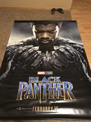 Black Panther huge movie banner for Sale in Eugene, OR