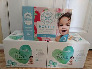 Diapers size 3 for Sale in Newport News, VA