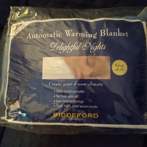 "King Size Supreme Electric Blanket 100""x90"" for Sale in Virginia Beach, VA"