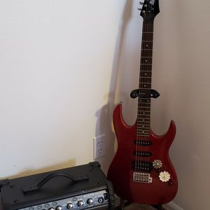 Electric Guitar And Speaker for Sale in Aurora, CO