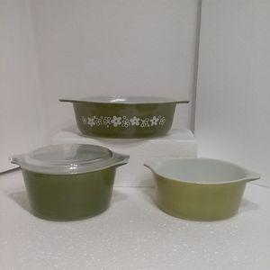 3 pc Vtg Pyrex Bowls for Sale in Farmington, NM