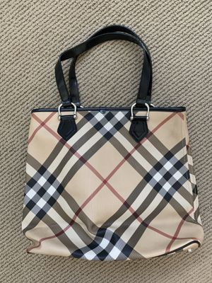Authentic Burberry Classic Tote Bag for Sale in Seattle, WA