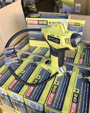 RYOBI 18-Volt ONE+ Lithium-Ion Cordless High Pressure Inflator with Digital Gauge (Tool-Only) - BRAND NEW for Sale in Garden Grove, CA