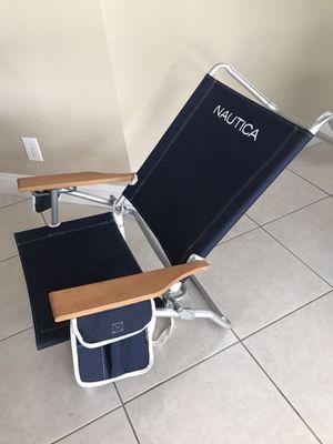 Nautica 5-Position Beach Chair for Sale in Miramar, FL