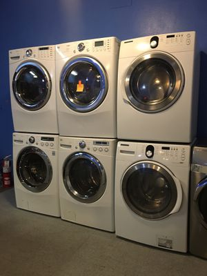 Front load washer and dryer set in excellent condition $499.00 & up for Sale in Baltimore, MD