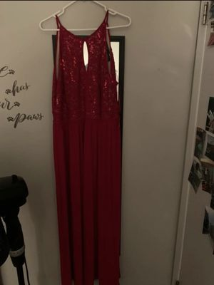 Red prom dress for Sale in Virginia Beach, VA