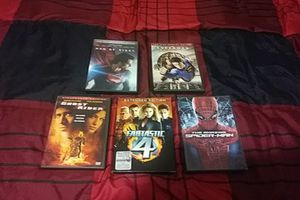 2 DC comic movies and 3 Marvel movies for Sale in Simpsonville, SC