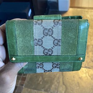 Green Gucci Wallet for Sale in Spring, TX