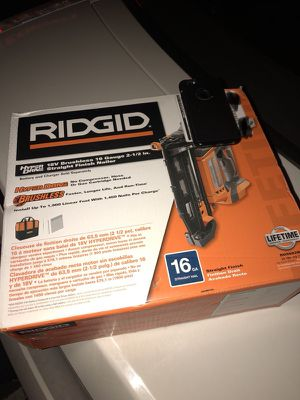 RIDGID Nail Gun for Sale in New York, NY