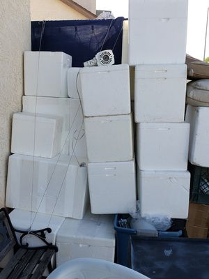 All Large styrofoam coolers(24 inch) $3 for Sale in Glendale, AZ