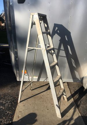 6' ladder a Frame (drill saw paint for Sale in Romeoville, IL