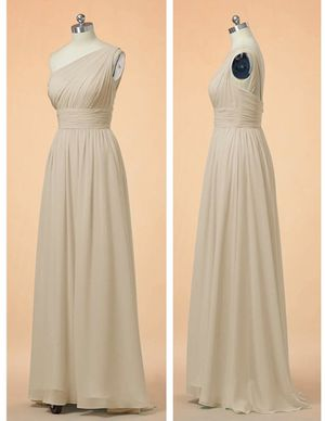 Beautiful Formal Champagne Dress for Sale in Orlando, FL