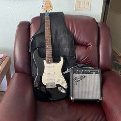 "Electric Guitar, Fender Squier ""Nice Shape "" for Sale in Vancouver,  WA"