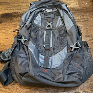 Outdoor Products Backpack Silver Grey New Hiking for Sale in Bakersfield, CA