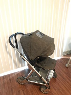 Mamas & Papas Urbo2 Stroller w/ Chrome Chassis - Chestnut Tweed for Sale in Miami, FL