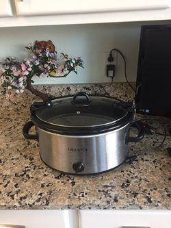 Crock pot 6 Quarts for Sale in Aurora,  CO