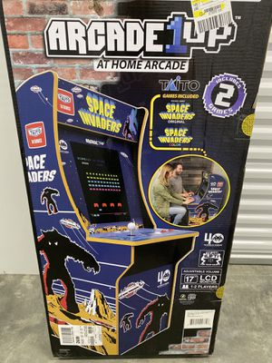 ARCADE 1UP SPACE INVADERS Video Game, Retro Video games, OLD Arcade games, Old School video games , Space Invaders for Sale in Niles, IL