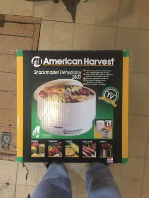 American Harvest Snackmaster Dehydrator 2400 for Sale in Quincy, IL