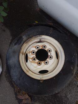 Dodge tradesman dually factory wheel 8 lug for Sale in Anaheim,  CA