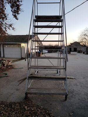 Custom built scaffolding ladder for Sale in Shafter, CA