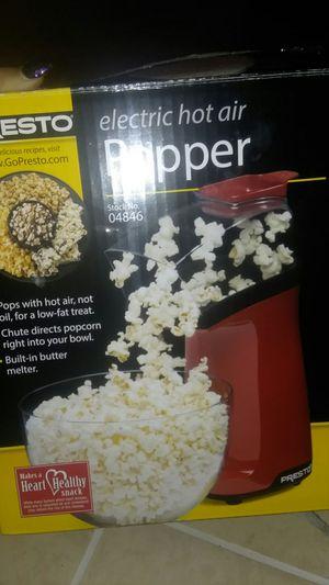 Presto Popcorn Maker (electric hot air) for Sale in Cape Coral, FL