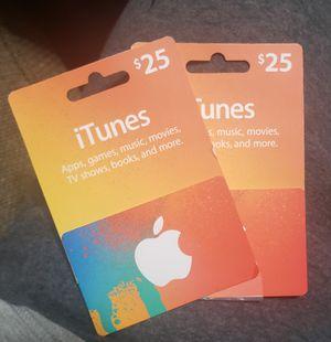 iTunes card for Sale in Pico Rivera, CA