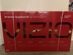 NEW 4K HDR VIZIO 55 INCH TV for Sale in Imperial Beach, CA