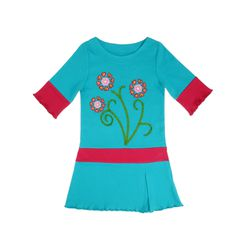 Flower Hearts Embroidery Girls' Dress 3T for Sale in Norfolk,  VA