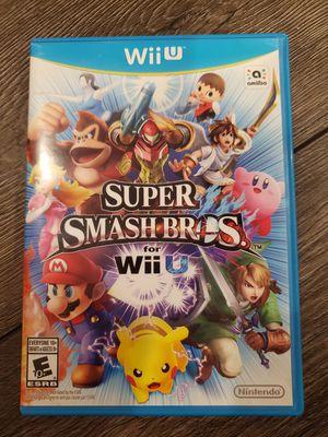 Super Smash Bros. For Wii U for Sale in Fullerton, CA