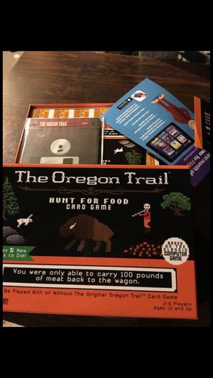 The Oregon trail board game brand new never used for Sale in Cottage Grove, MN