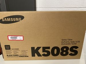 Samsung series CLP-CLT-K508S; Black Toner Cartridge, CLP-615/620/670-CLX-6220/6250 for Sale in Chicago, IL