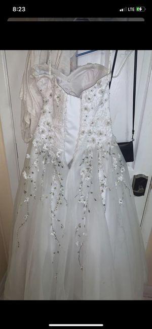 Da Vinci /quince/ wedding dress for Sale in Tampa, FL
