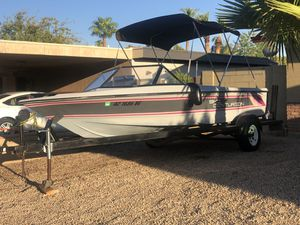 1987 ski centurion Sport trutrac boat 19ft with a 351HP Cleveland motor V8 super fast runs excellent for Sale in Phoenix, AZ
