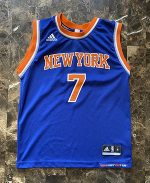 NWT Knicks #7 Carmelo Anthony Basketball Adidas Jersey Youth Medium for Sale in Carpentersville, IL