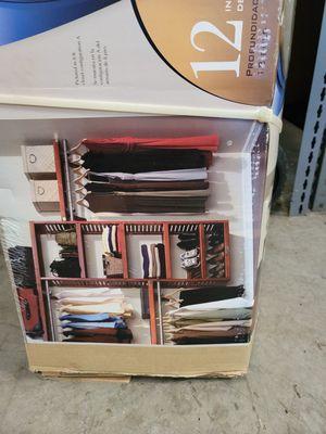 New closet organizer. for Sale in Geneva, FL