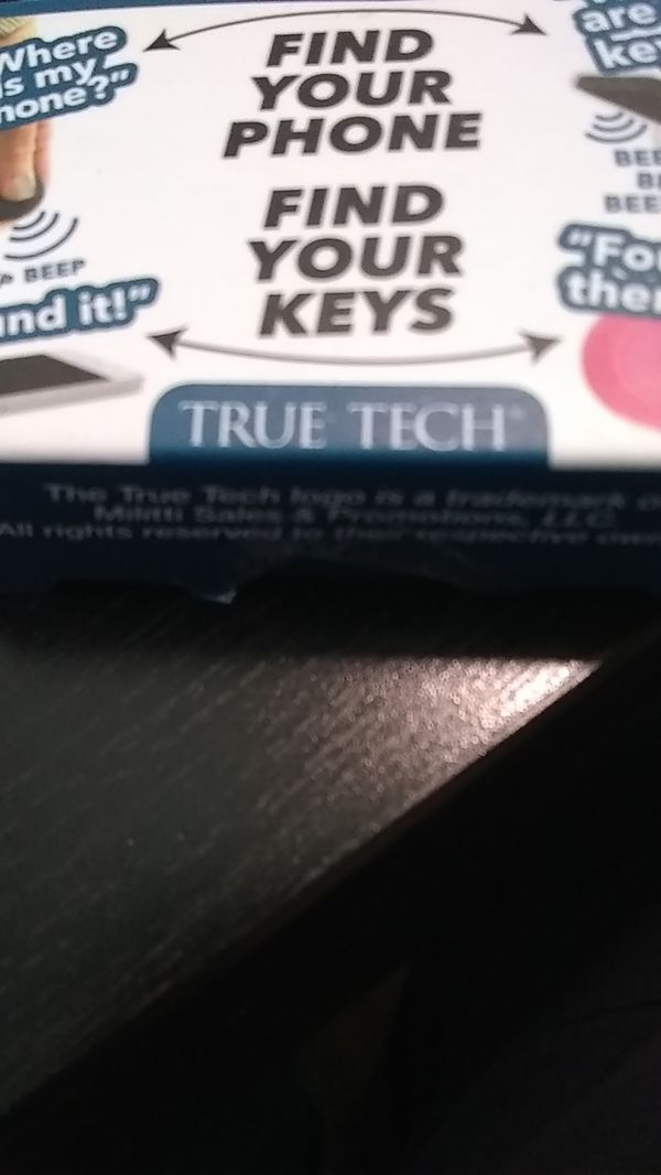 True Tech TRACKER for smartphones & keys $10 for Sale in Tacoma, WA -  OfferUp
