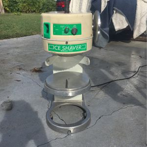 Hatsuyuki Commercial Ice Shaver for Sale in Zephyrhills, FL