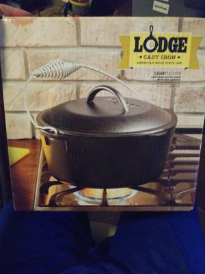 Lodge cast iron pan and lid for Sale in Sparks, NV