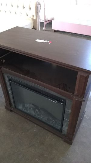 Fireplace TV stand for Sale in Dallas, TX